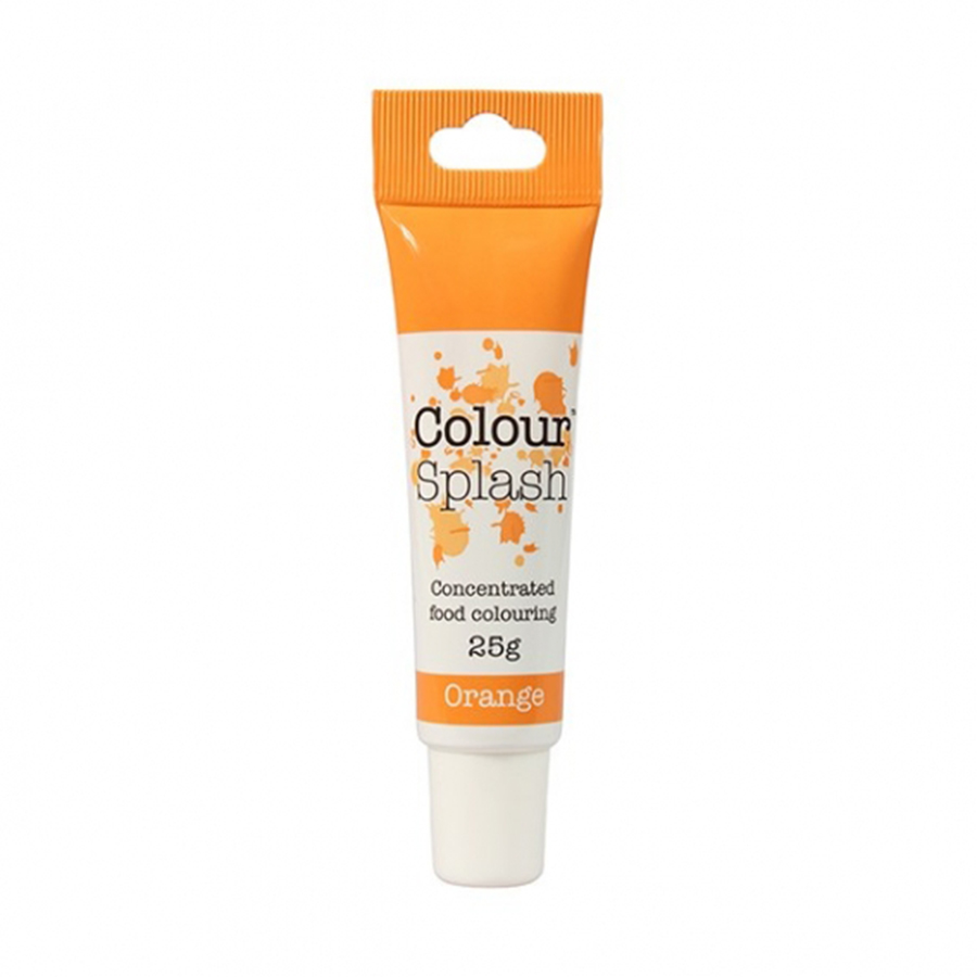 Colour Splash Gel - Orange - 25g - single