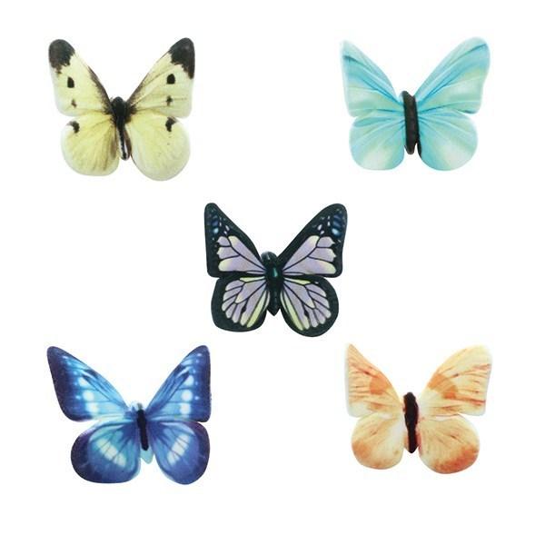 SugarSoft Assorted Butterflies - 30mm