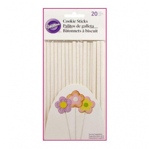Wilton Cake Pop Sticks - Pack of 20