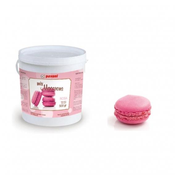 Pink Macaron Mix 500g