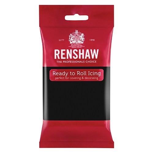 Renshaw Professional Sugar Paste - Jet Black - 12 X 250g