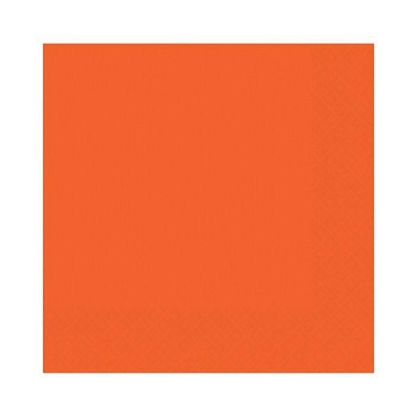 Orange Party Napkins - Single