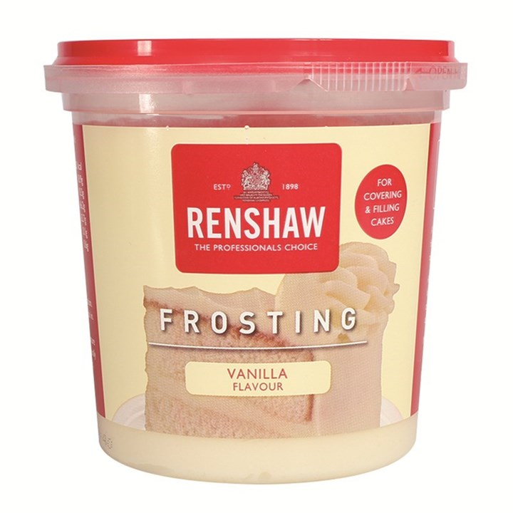 Renshaw Frosting - Vanilla - 400g - Single