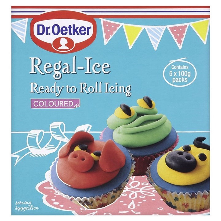 Dr. Oetker Ready To Roll Coloured Icing - Single