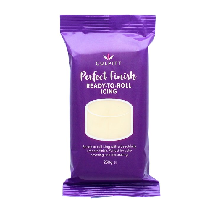 Culpitt Perfect Finish Ready To Roll Icing - Ivory 250g - Single