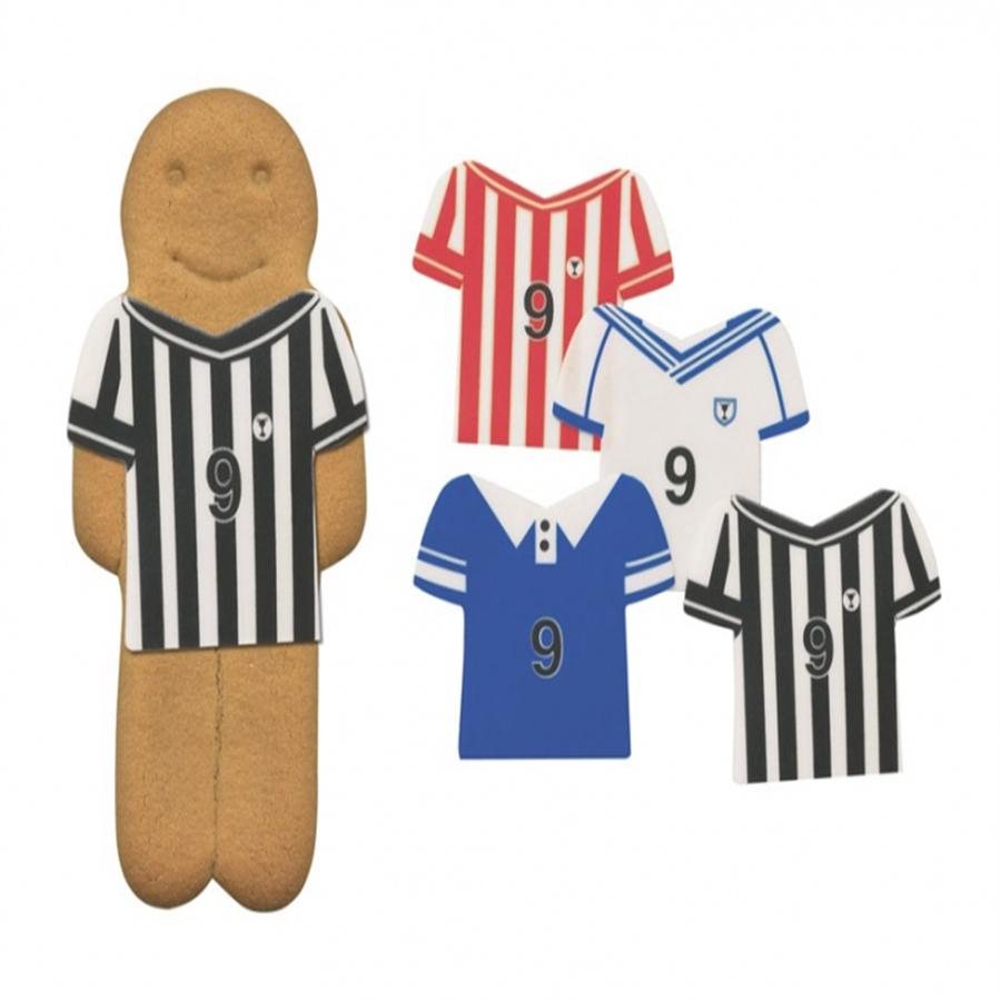 Football Shirts Assorted - Sugar Shapes
