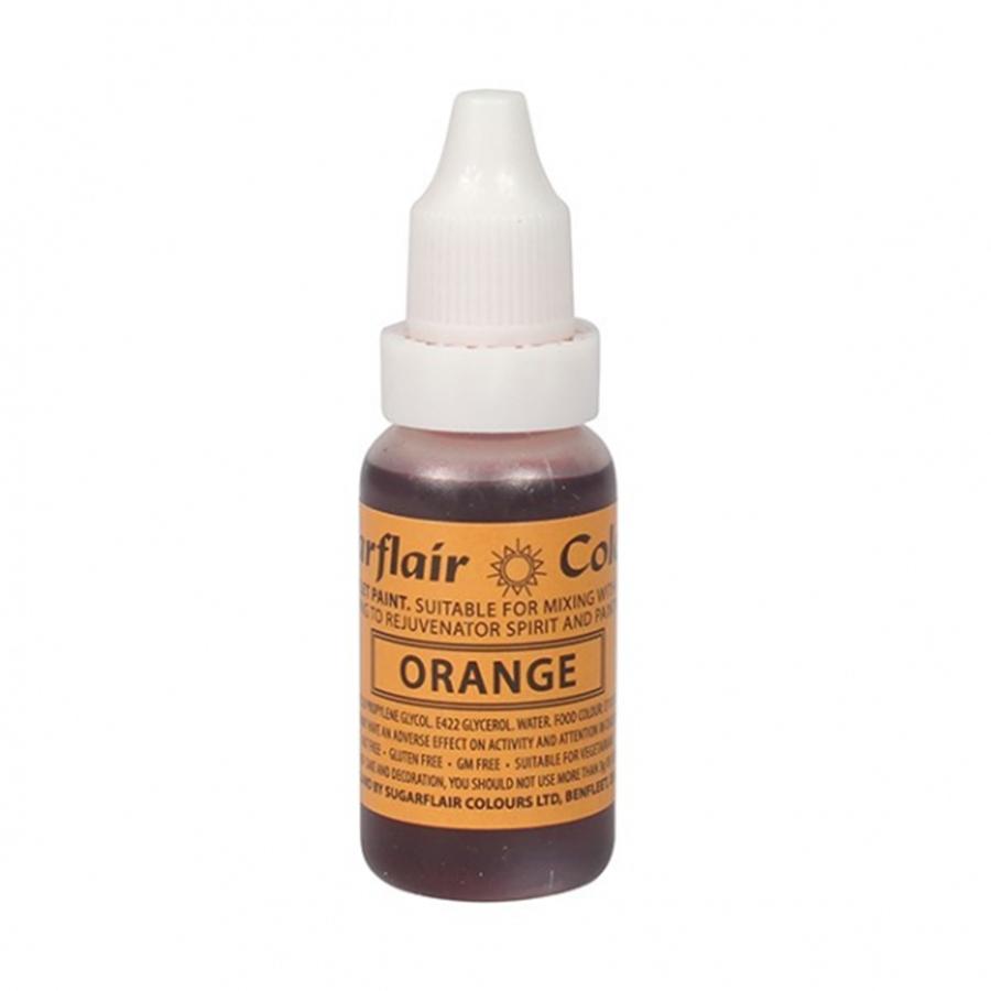 Sugarflair Sugartint Droplet Colour - Orange
