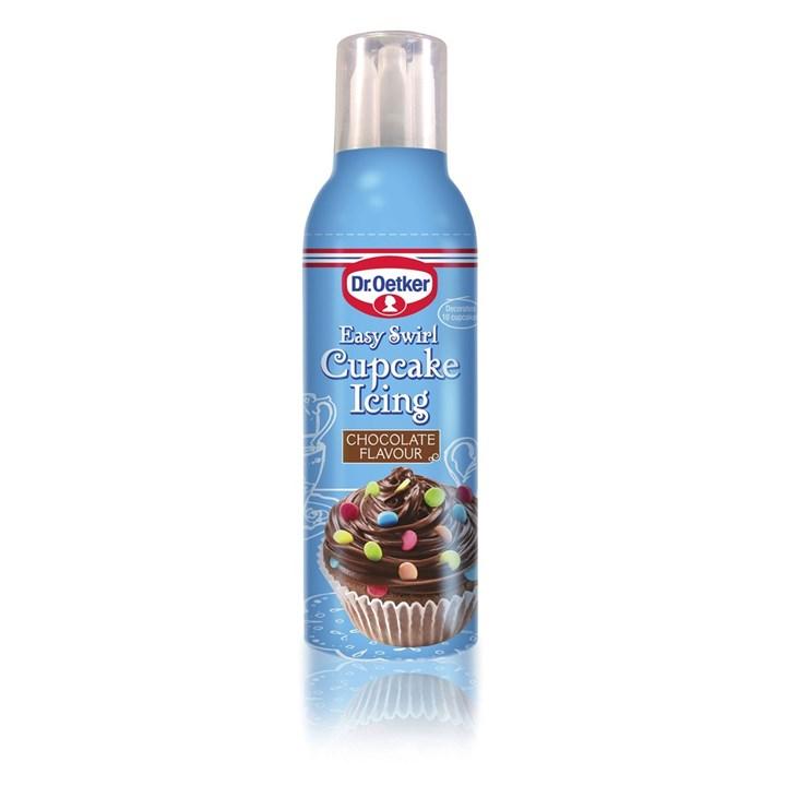 Dr. Oetker Easy Swirl Cupcake Icing - Chocolate - Single