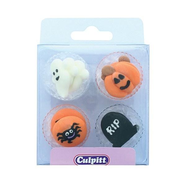 Culpitt - 12 Halloween Sugar Decorations - Single