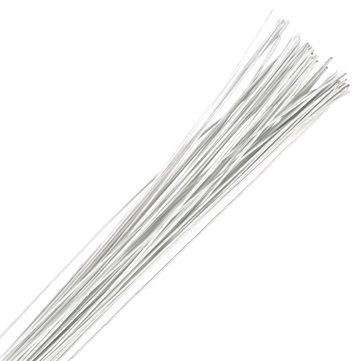 White Floral Wire - 30 Gauge (0.32mm)