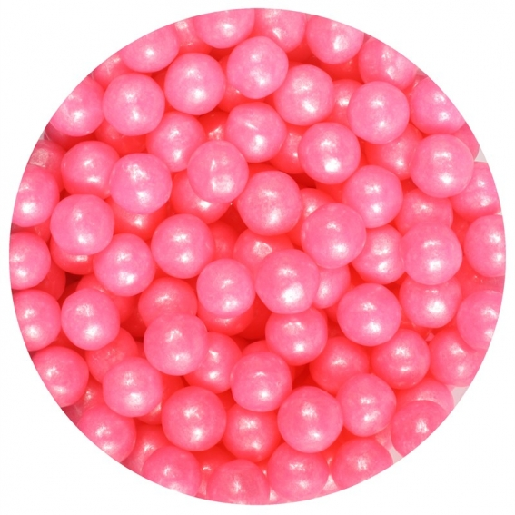 Purple Cupcakes - Pink Pearls - 1kg