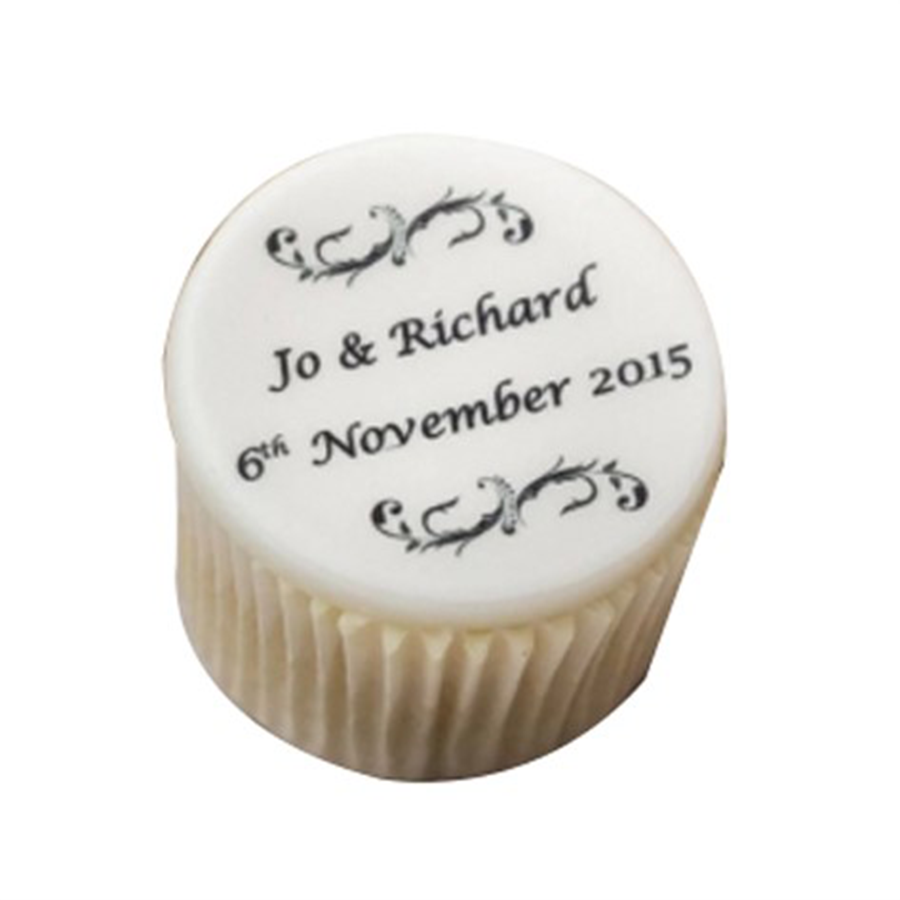 Cupcake Wedding Favour