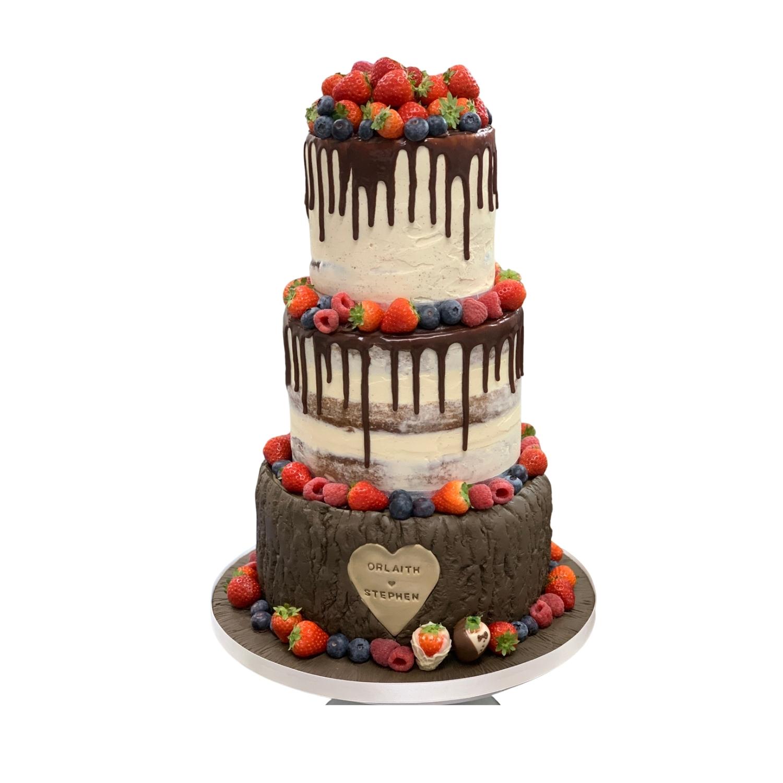 3 Tier Drip Cake