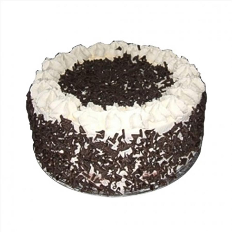 8 Inch Black Forest Cream Sponge