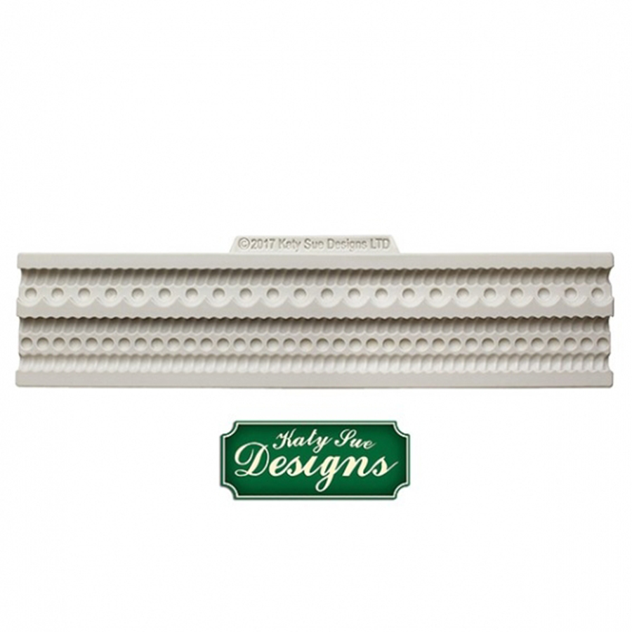 Katy Sue Mould - Rope and Pearl Border