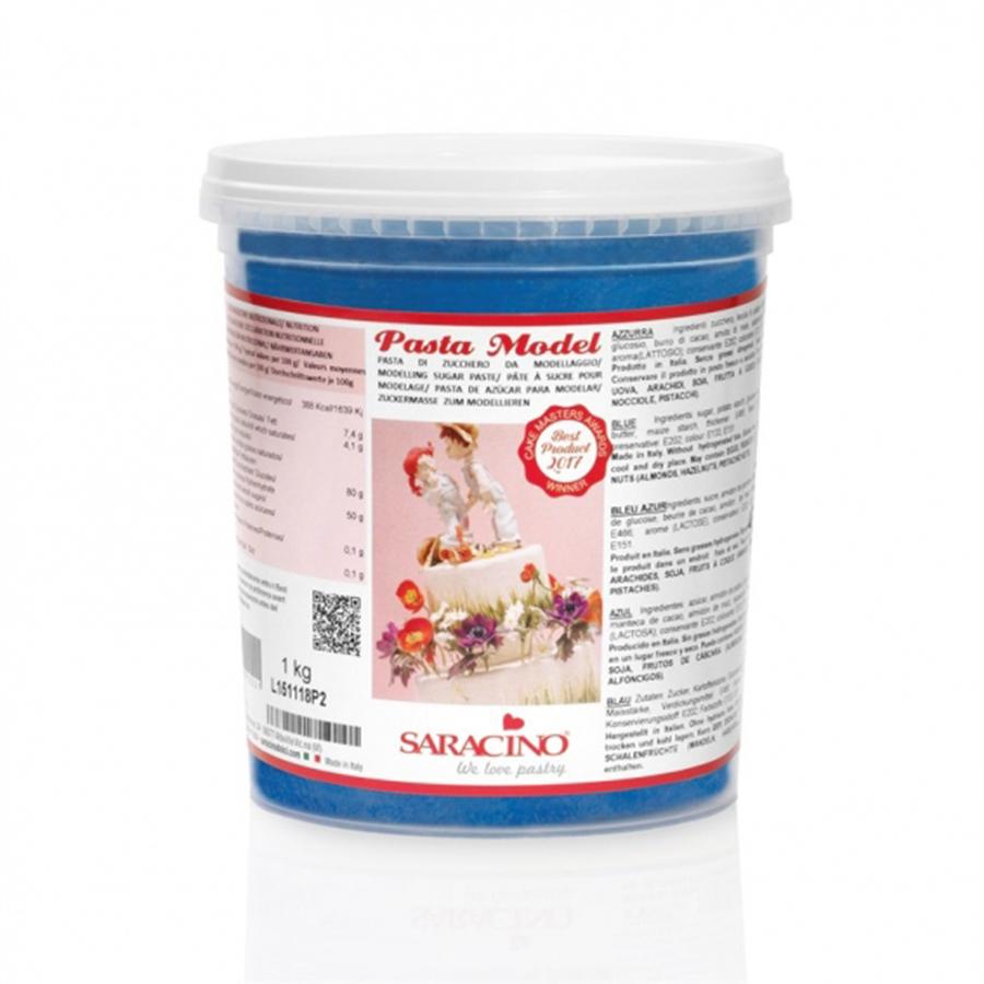 Saracino Modelling Paste - Blue - 1kg - single