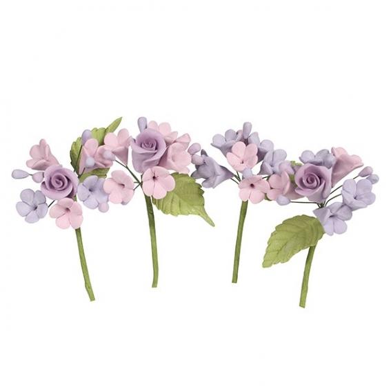 House of Cake Mini Rose Spray - Lilac - single