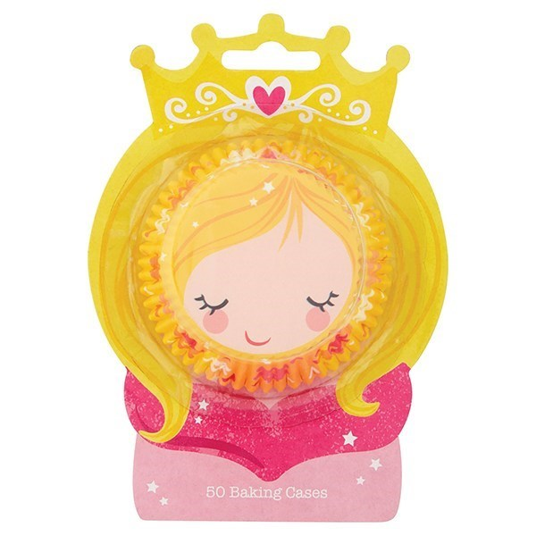 Princess Baking Cases - Pack Of 50 - Single