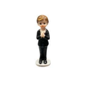 Communion Boy Figure Standing 8cm