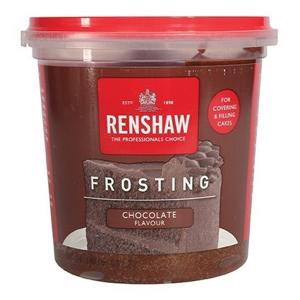 Renshaw Frosting - Chocolate - 400g - Single