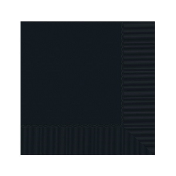 Black Party Napkins - Single
