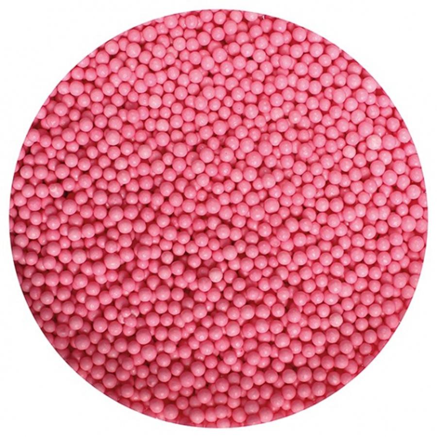 Purple Cupcakes Nonpareils - Pink - 100g