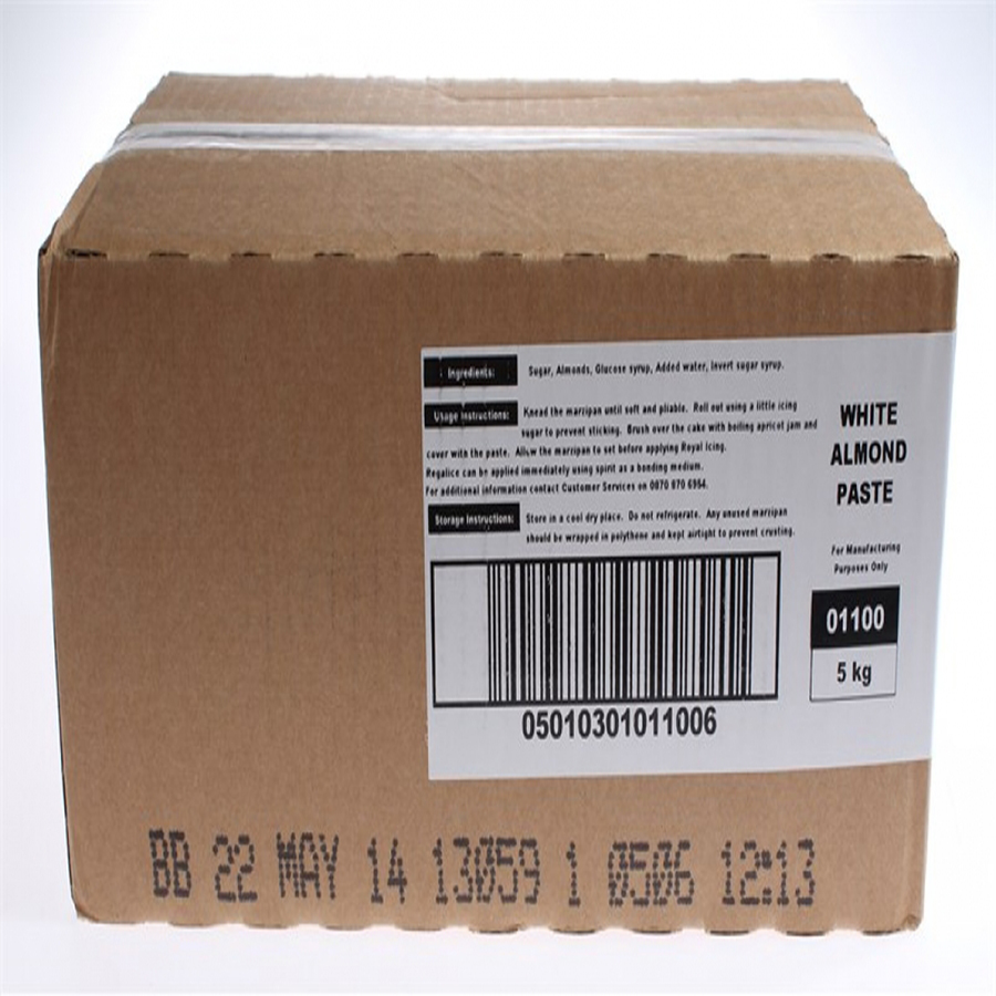Renshaw - Marzipan - White - No Preservative - 1 x 5kg