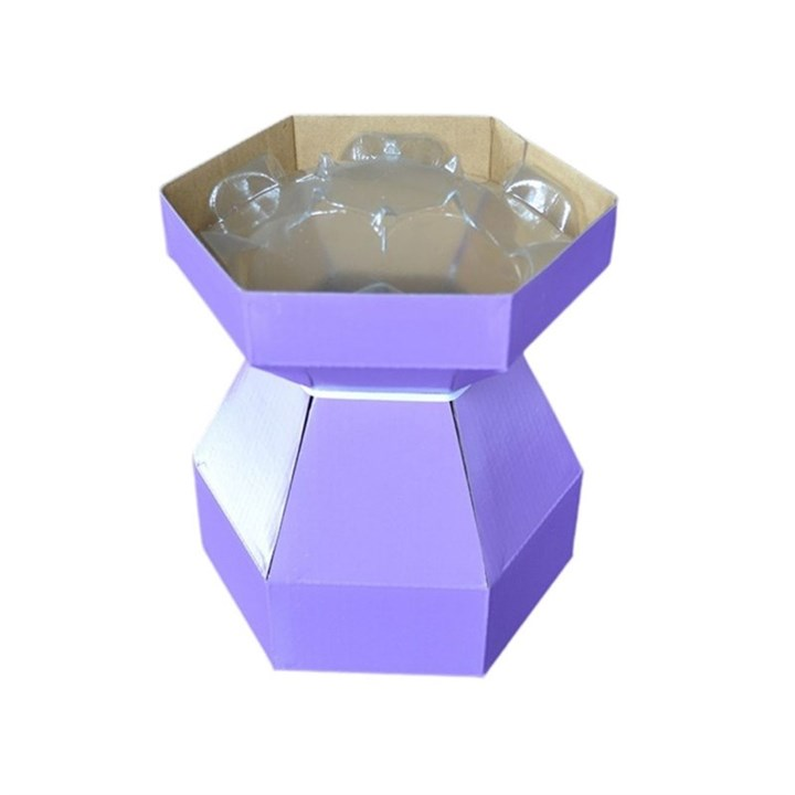Purple Cupcakes Cupcake Bouquet Box - Bilberry Crush (Lilac)