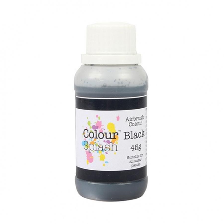Colour Splash Airbrush Colours - Black
