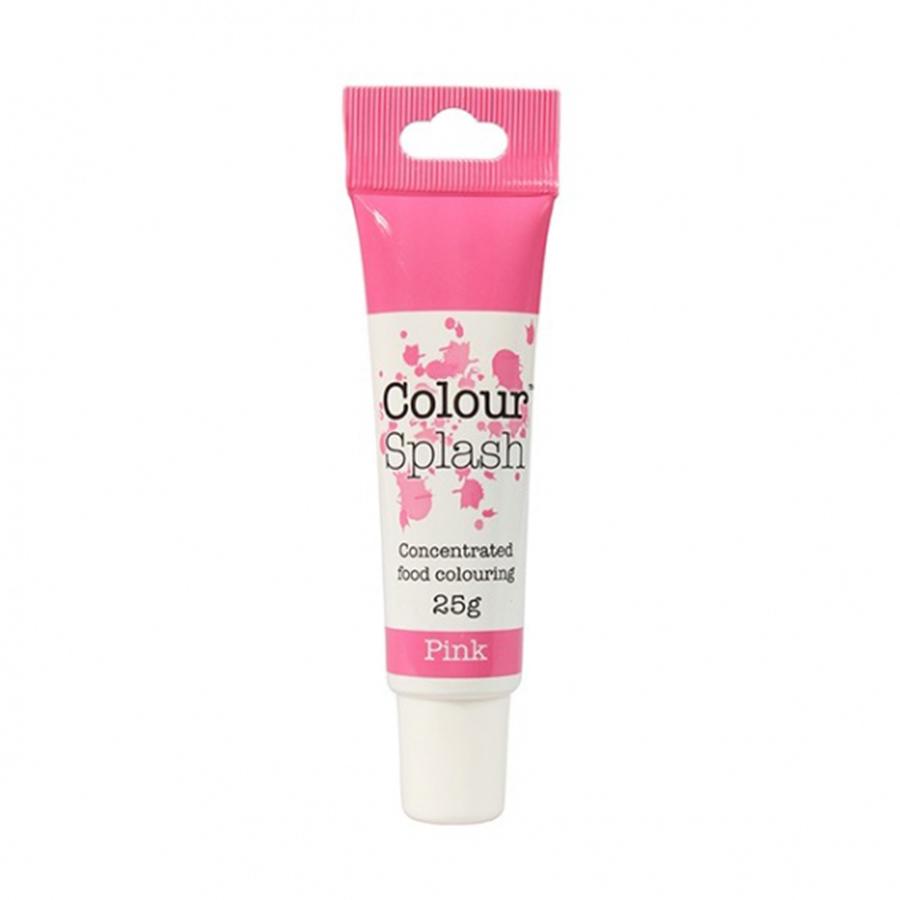 Colour Splash Gel - Pink - 25g - single