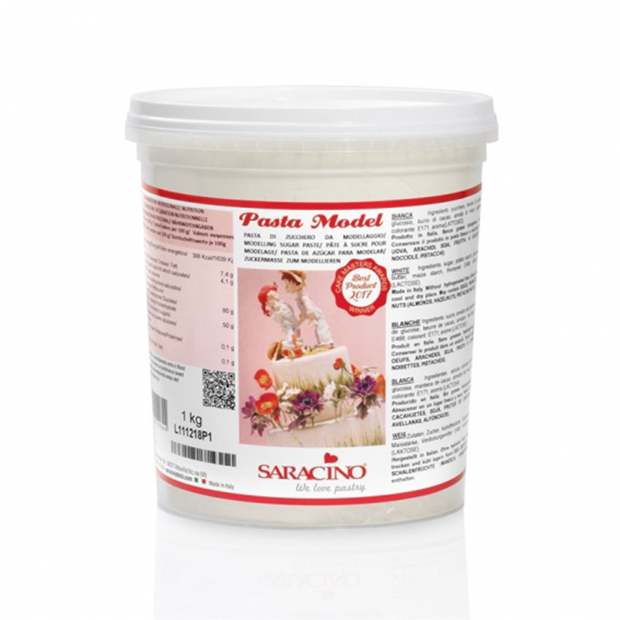 Saracino Modelling Paste - White - 1kg - single