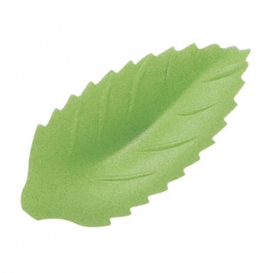 Large Wafer Rose Leaf - 47mm