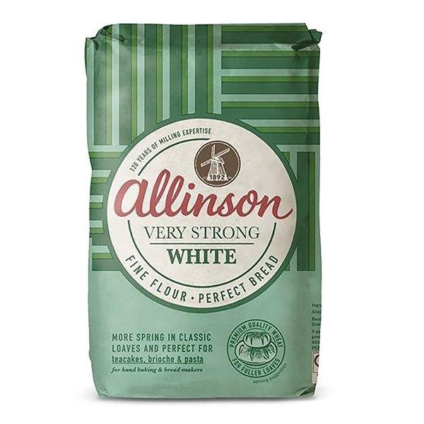 Allinson Very Strong White Flour 1.5kg - Single