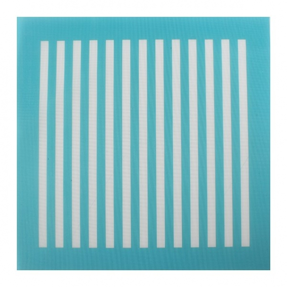 House of Cake Mesh Stencil Vertical Lines 140 x 150mm