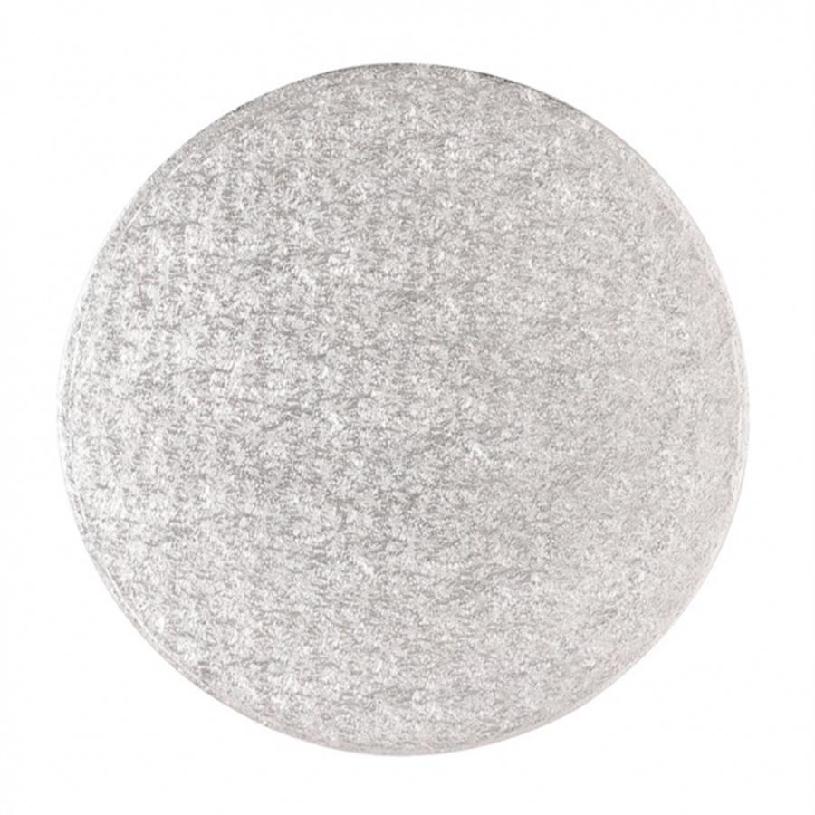 11'' (279mm) Cake Board Round Silver Fern