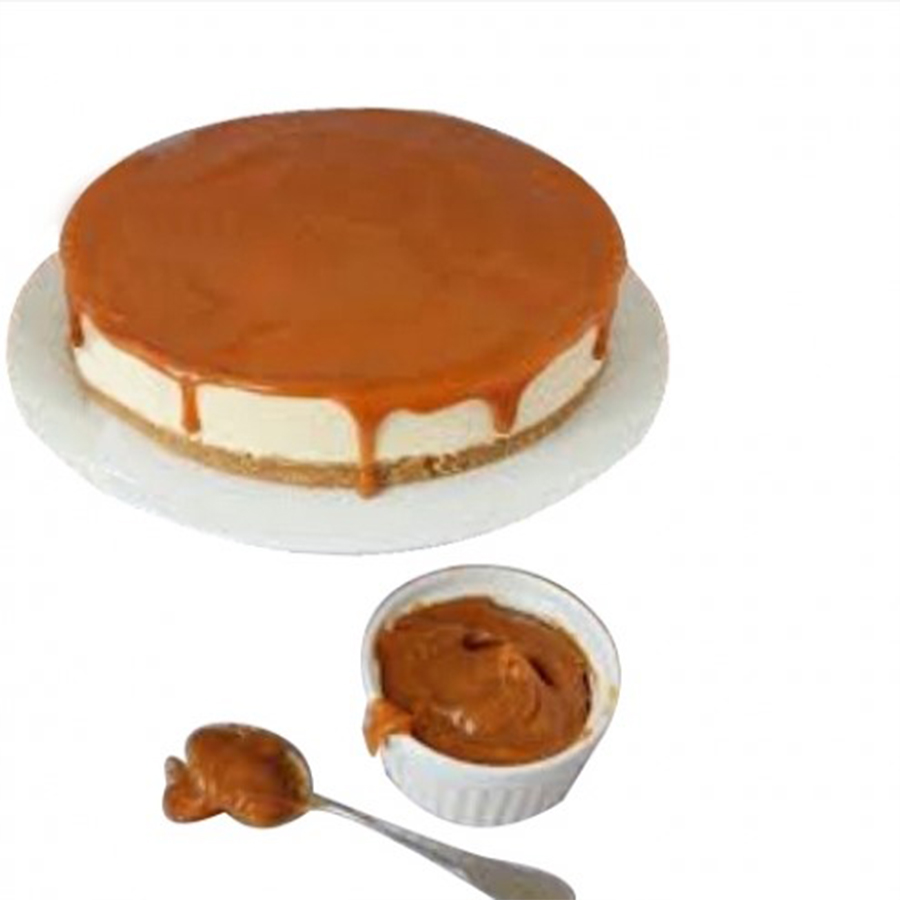 Caramel Toffee Cheesecake - 8 inch ( feeds 5-6)
