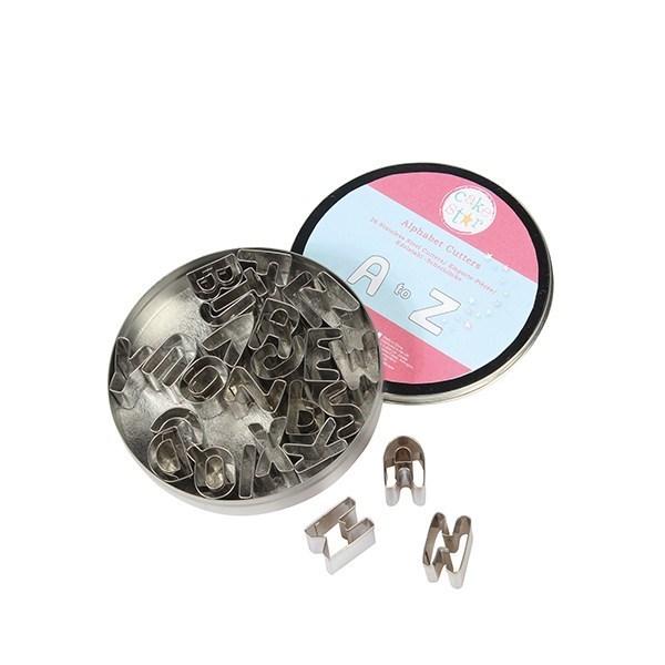 Cake Star Metal Alphabet Cutter Set - 26 Piece