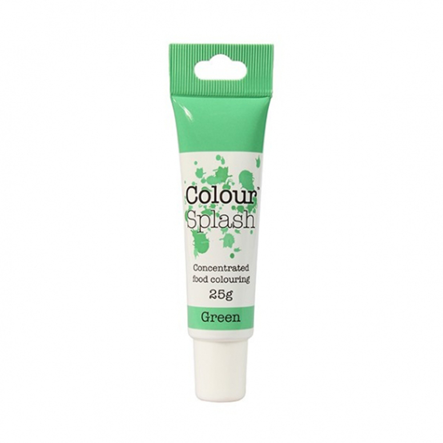 Colour Splash Gel - Green - 25g - single