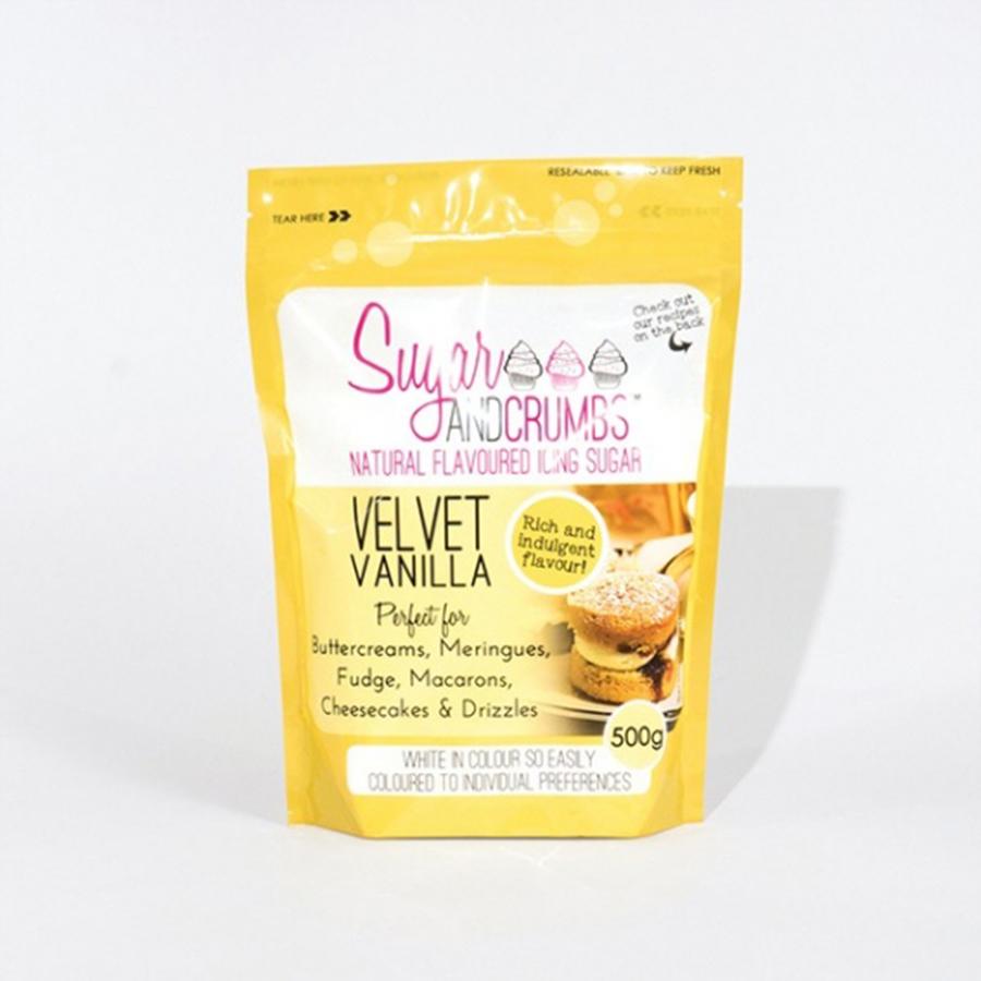 Sugar and Crumbs - Velvet Vanilla 500g