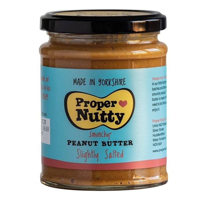 Proper Nutty Slightly Salted Peanut Butter - 280g - Single