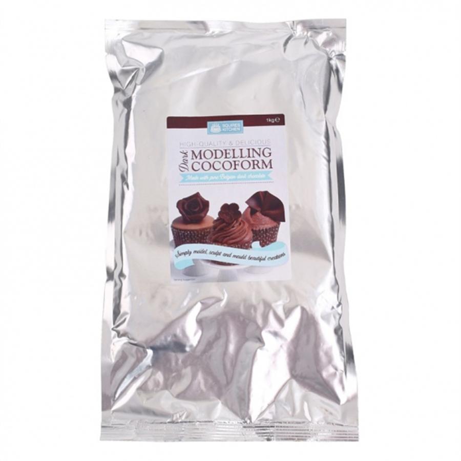 Squires Kitchen Cocoform - Dark - 1kg