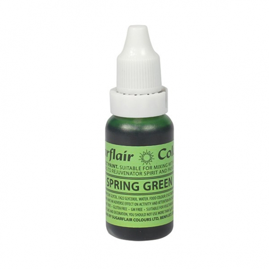 Sugarflair Sugartint Droplet Colour - Spring Green