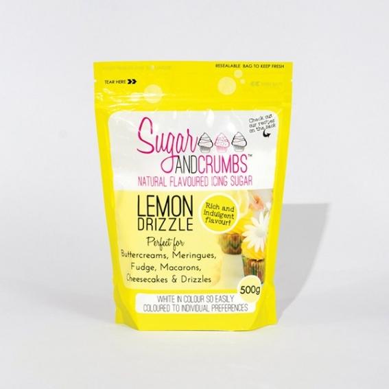 Sugar and Crumbs - Lemon Drizzle 500g