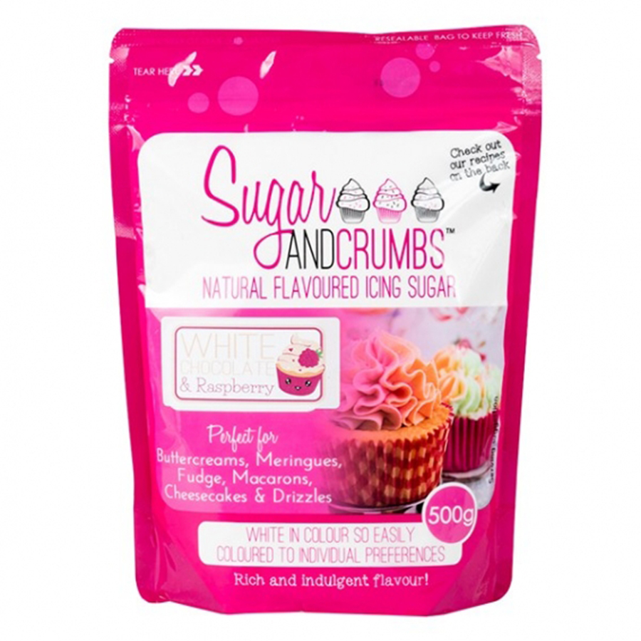 Sugar and Crumbs - Raspberry Ripple 500g