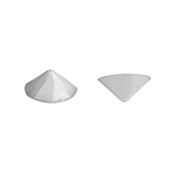 House of Cake Silver Metallic Jelly Studs - Pack of 20