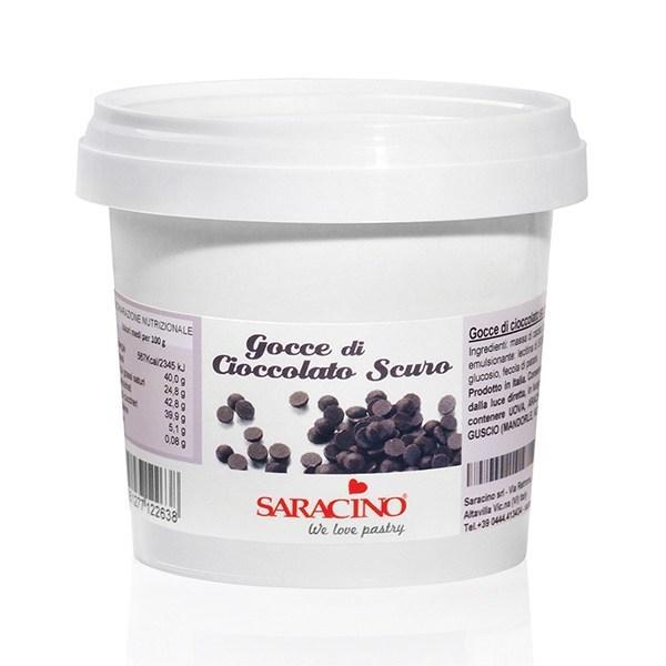 Saracino Dark Chocolate Drops 1 X 250g