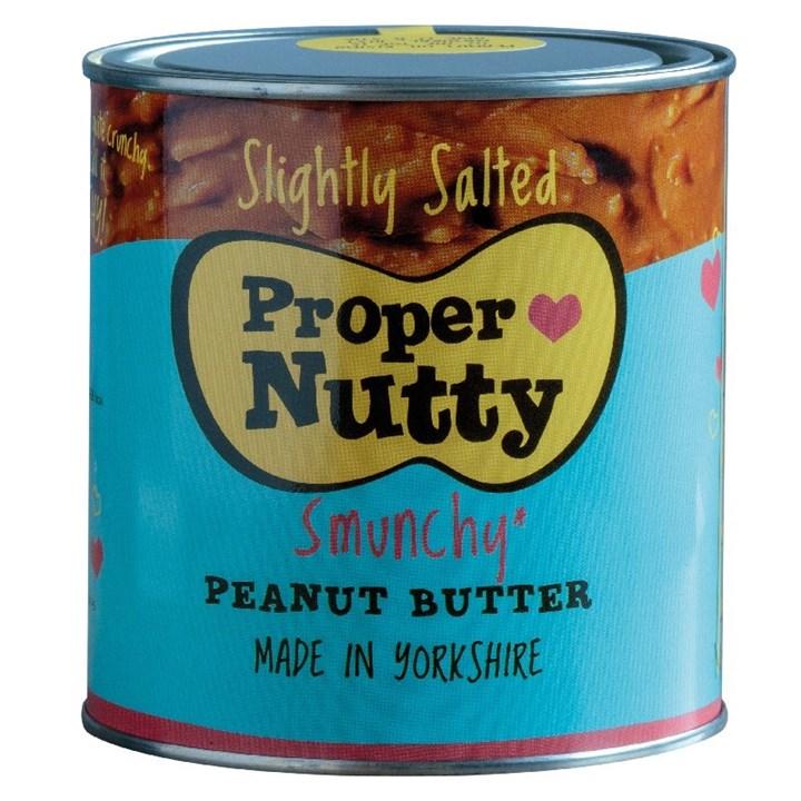 Proper Nutty Slightly Salted Peanut Butter - 1kg - Single