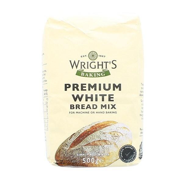 Wrights Premium White Bread Mix - 500g - Single