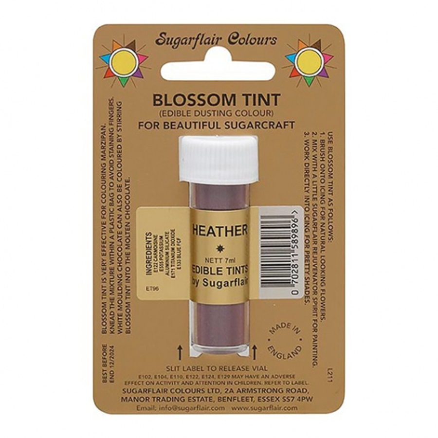 Sugarflair Blossom Tint Dusting Colours - Heather