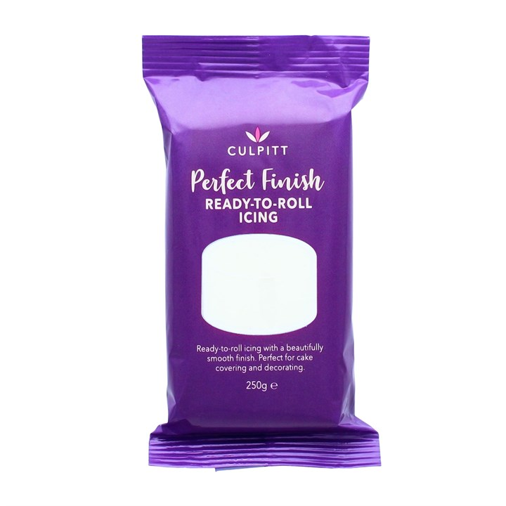 Culpitt Perfect Finish Ready To Roll Icing - Brilliant White 250g - Single